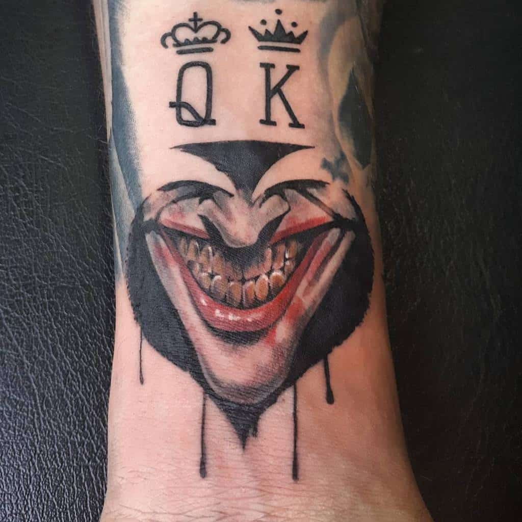 wrist ace of spades tattoos bykiko_tattoos
