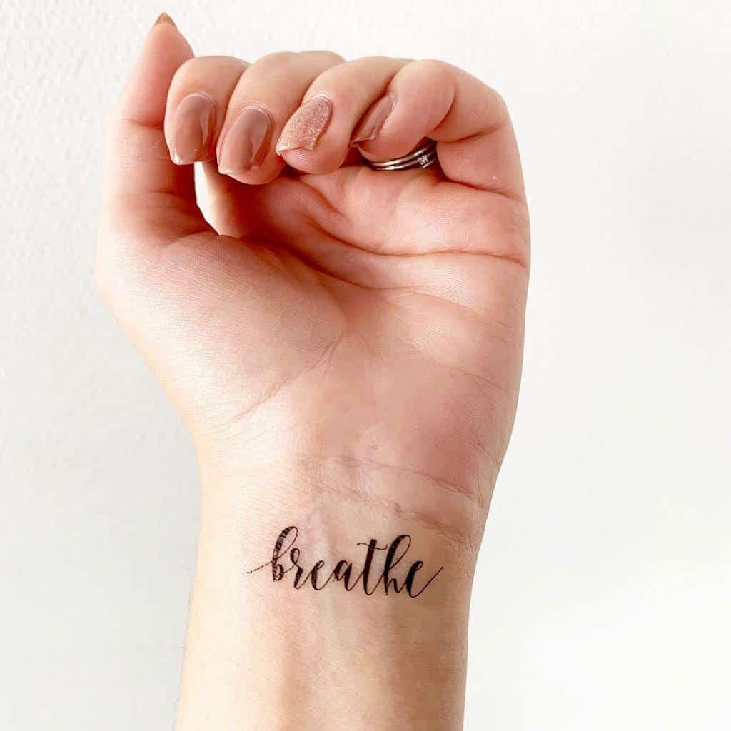 wrist breathe tattoos tattoodayco