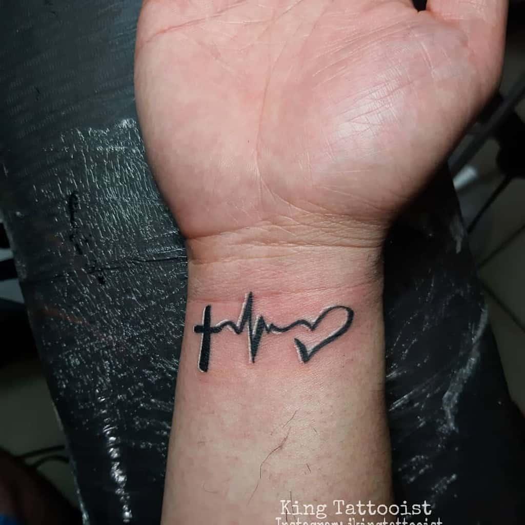 wrist faith hope love tattoos jkingtattooist