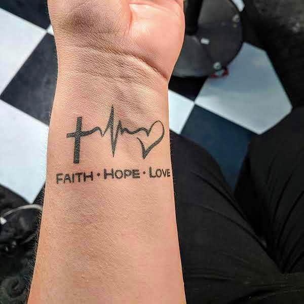 wrist faith hope love tattoos tatbarlasvegas