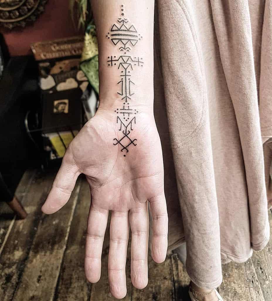 wrist simple tribal tattoos fmr.tattoos