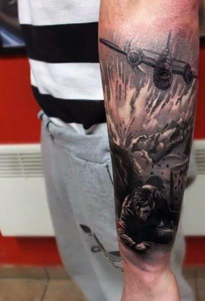 Wrist Tattoo Military For Men
