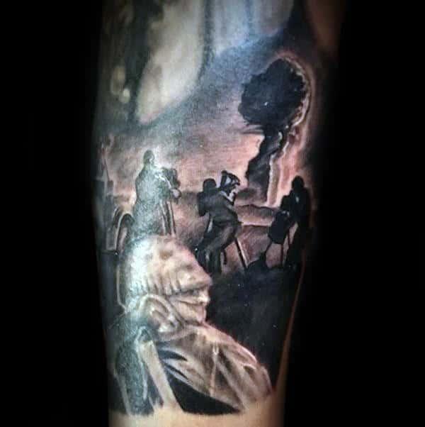 Ww2 Testing Grounds Mens Arm Tattoos