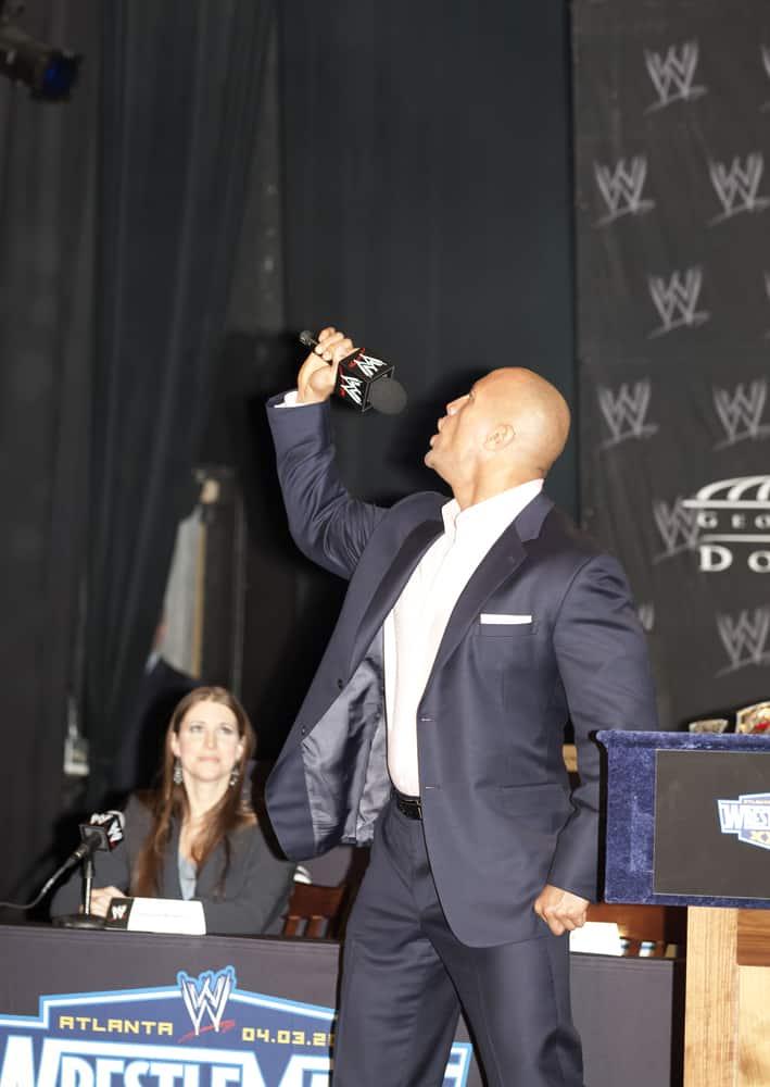 wwe superstar dwayne the rock johnson