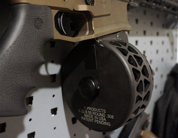 X Products 308 Ar10 50 Round Drum In Gun Armory