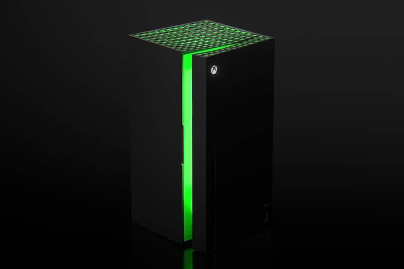 Xbox and Chill With Microsoft's Xbox Series X Mini Fridge