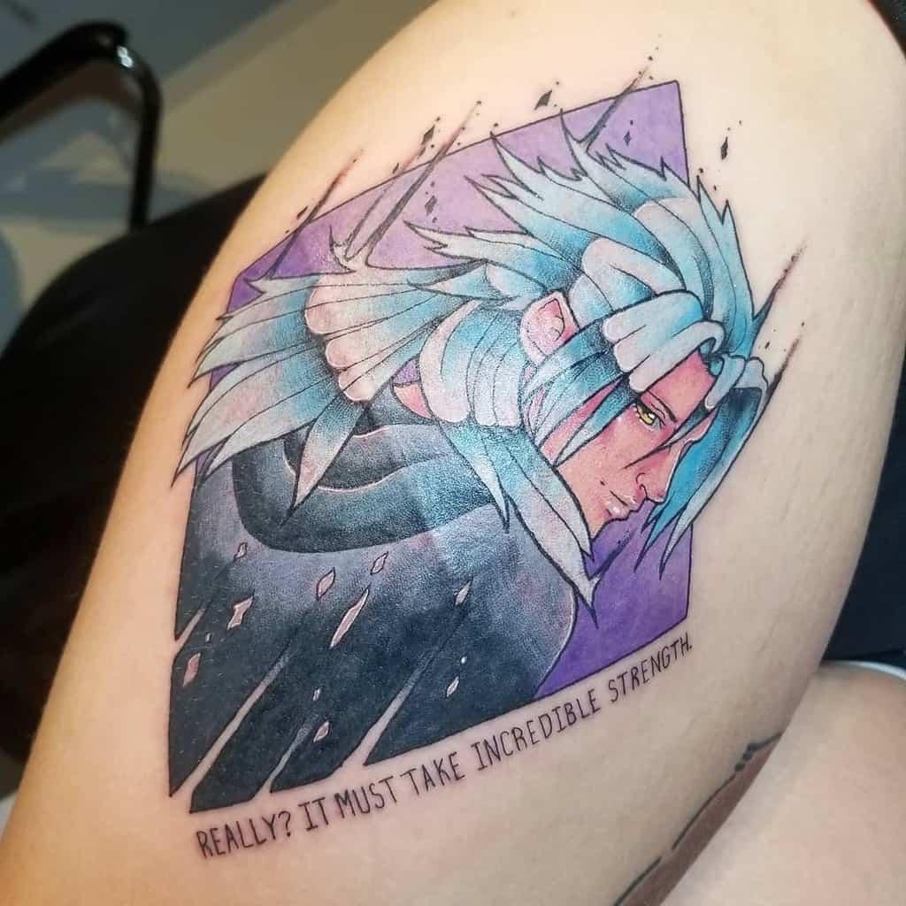 Xemnas Kingdom Hearts Tattoo
