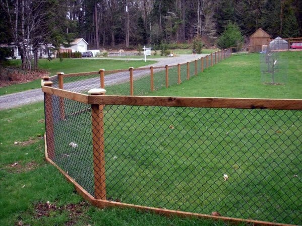 Yard Dog Fence Ideas