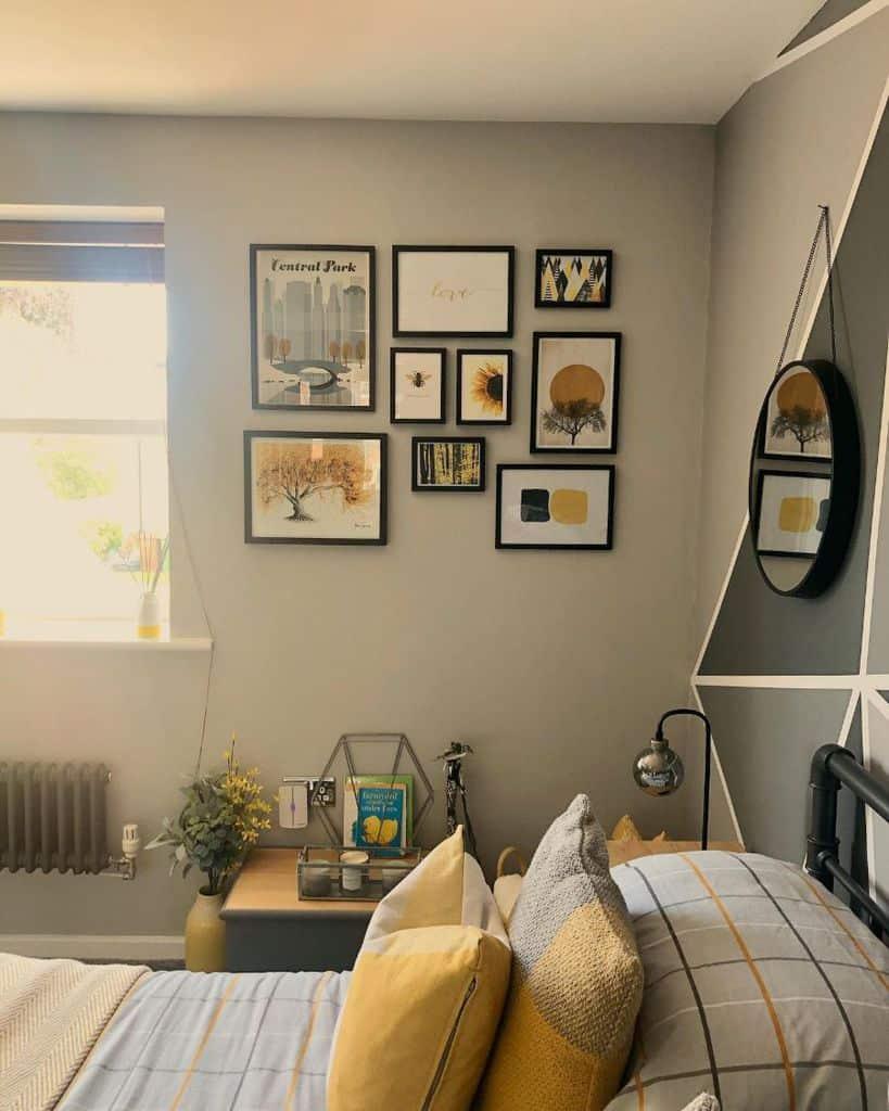 yellow decor bedroom ideas househappyhome