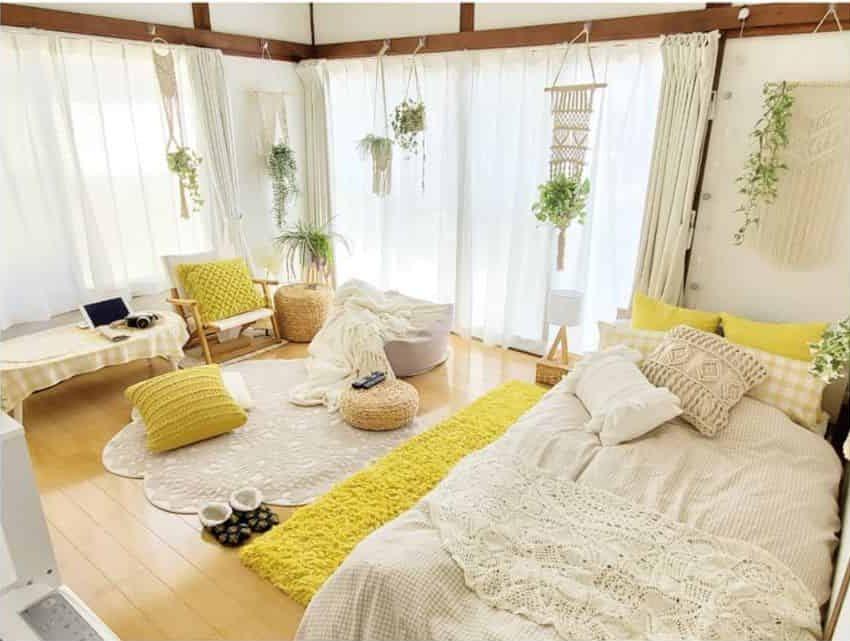 yellow decor bedroom ideas milklife72