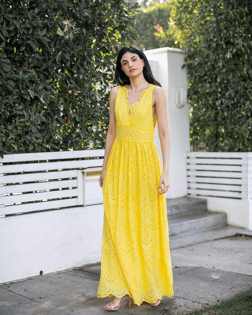 Tenue de vêtements Verte jaune