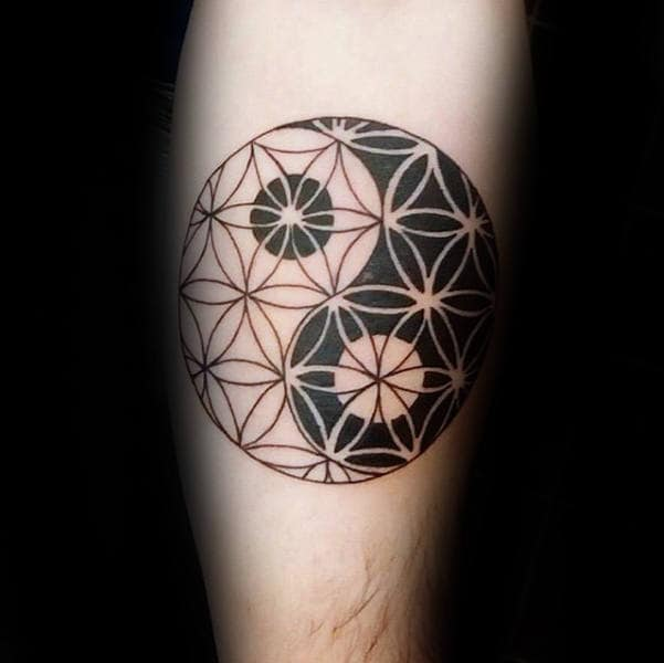 Tattoo Ideas Life: 100 Flower Of Life Tattoo Designs For Men