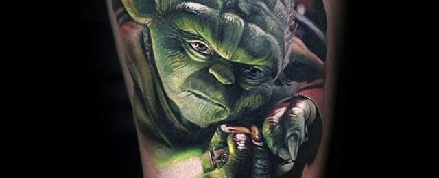 Yoda Tattoo Designs For Men
