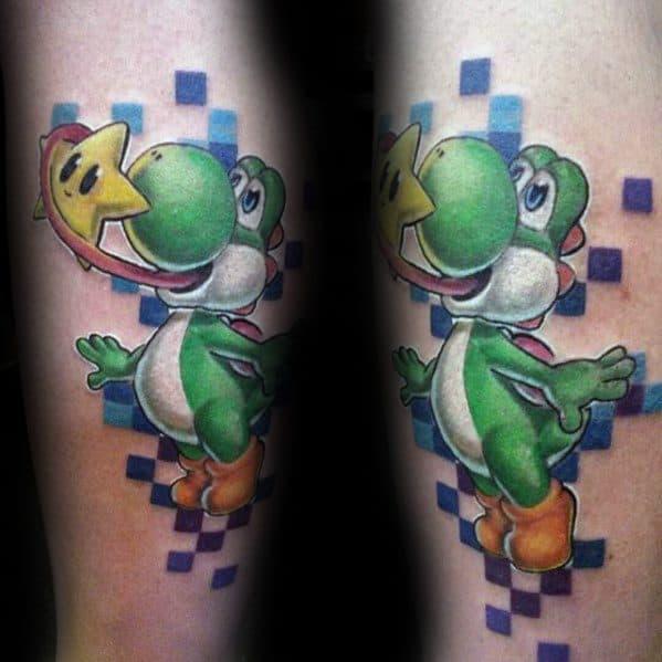 60 Yoshi Tattoo Designs For Men