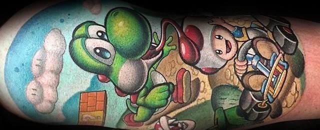 Yoshi Tattoo Designs For Men
