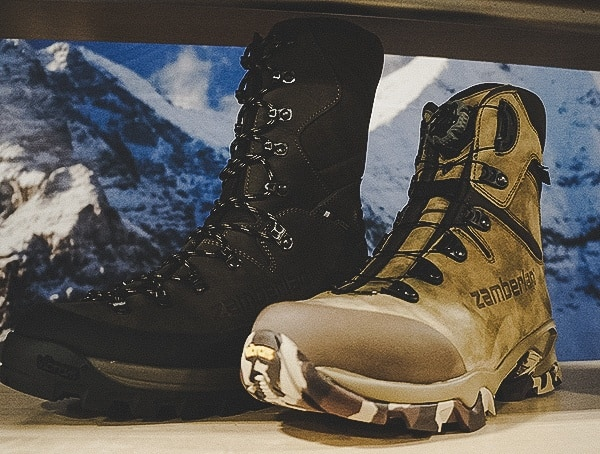Zamberlan Boots Las Vegas Shot Show 2019