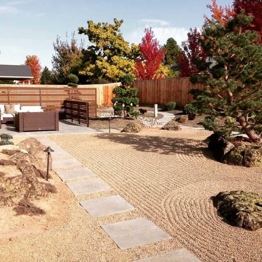 zen style landscaped garden ideas blueribbonlandscapes