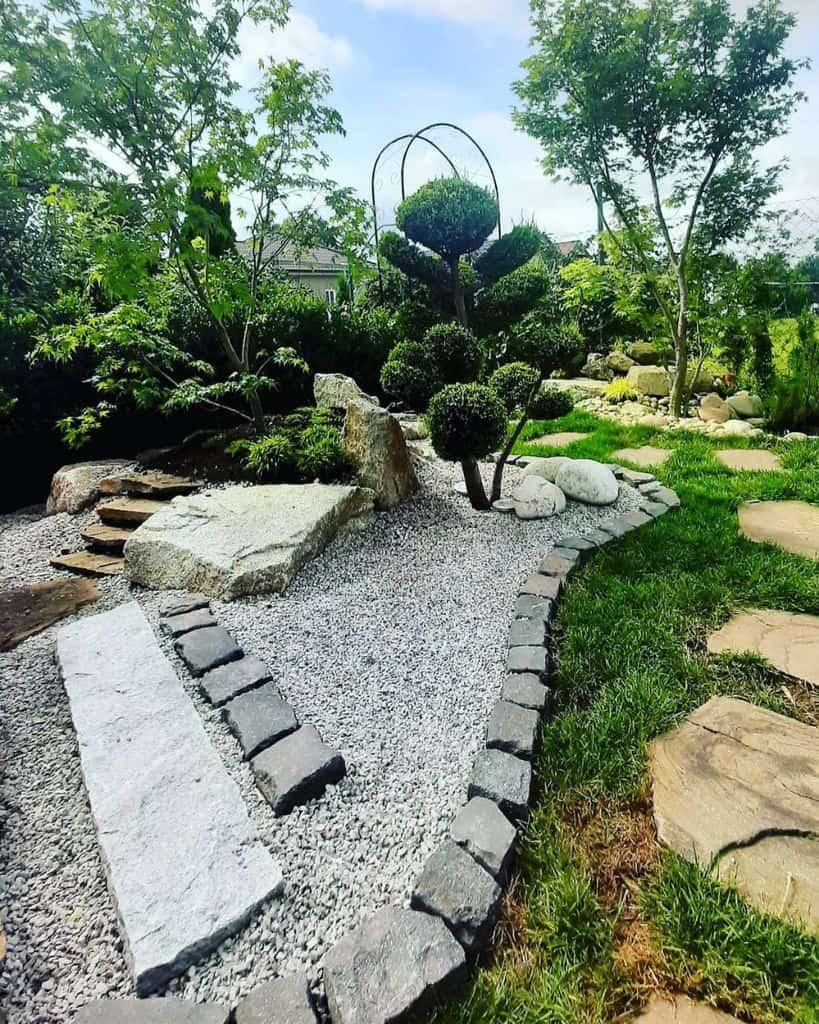 zen style landscaped garden ideas mylittlegarden3