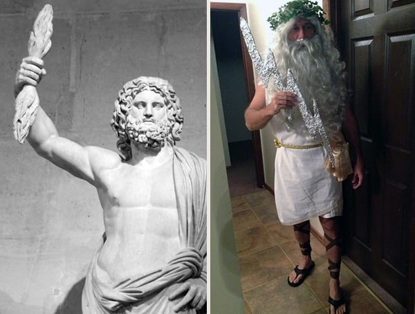 Zeus Greek God Best Mens Halloween Costumes