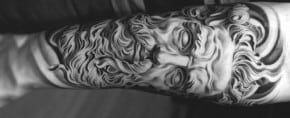 80 Zeus Tattoo Designs For Men – A Thunderbolt Of Ideas