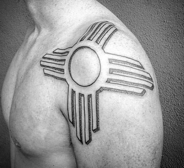 Zia Tattoo Ideas On Guys Shoulder