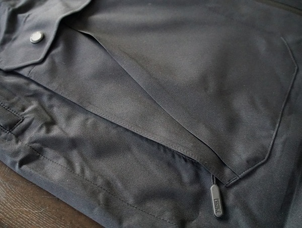 Zipper Closed Chrome Industries Storm Seeker Shell Ms Side Pocket Of Jacket