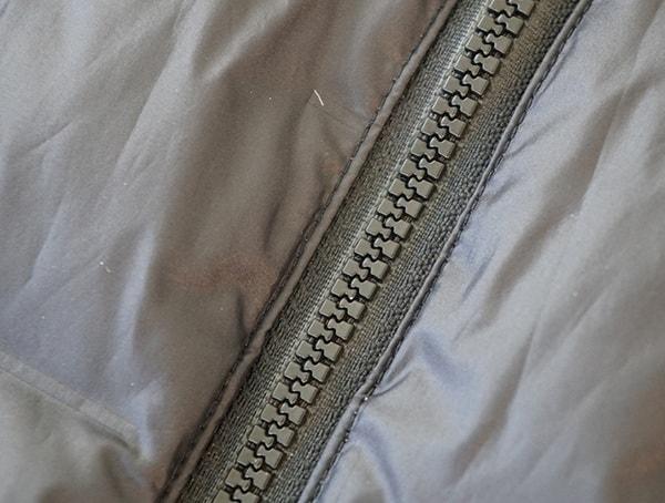 Zipper Detail Adidas Lite Down Hoodie