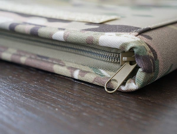 Zippere Detail Mercury Tactical Zippered Padfolio