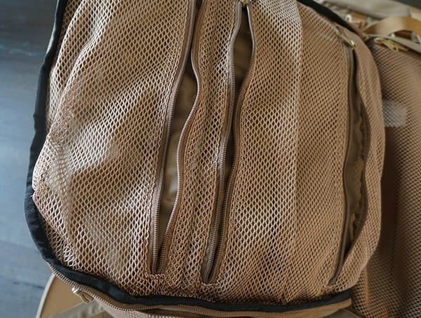 Zippered Mesh Pockets Kelty Eagle Backpack Main Compartment