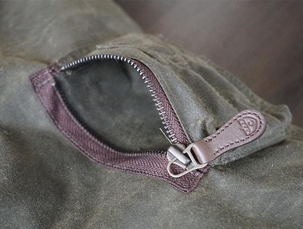 Zippered Small Left Sleeve Pocket On Mens Cockpit Usa Mountain Ranger Parka