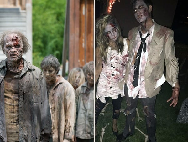 Zombie The Walking Dead Best Mens Halloween Costumes